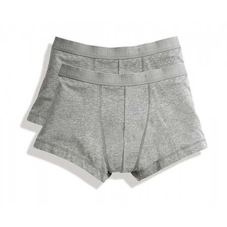 Classic Shorty , Caleçon Fruit of the Loom, Pack de 2