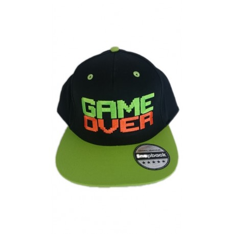 Casquette SnapBack Game Over