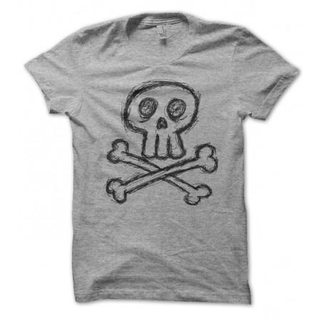 T-shirt Skull Griboulli