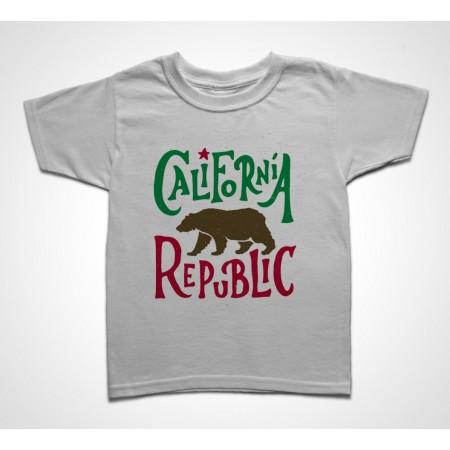Tee shirt Enfant California Republic