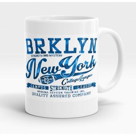 Mug blanc, Brooklynn, New York Campus