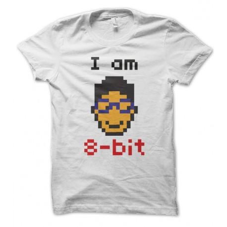 T-shirt Geek I Am a 8-bit