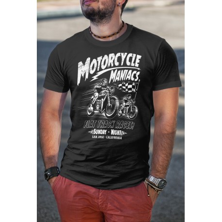 T-shirt Motorcycle Maniacs
