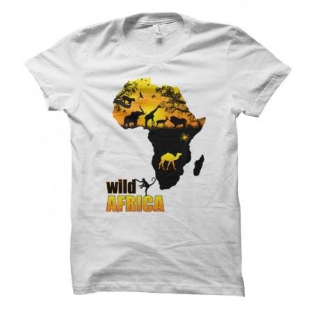 T-shirt Wild Africa