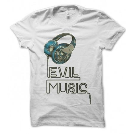 T-shirt Evil Music