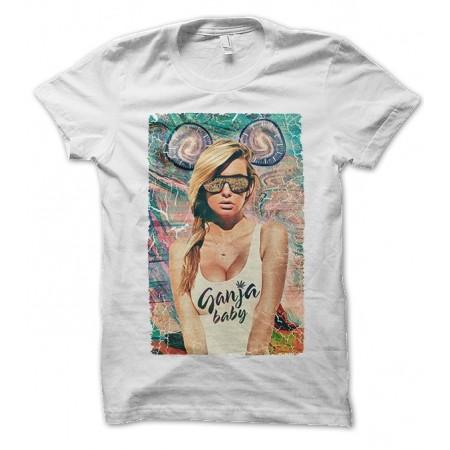 T-shirt Ganja Baby