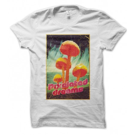 T-shirt Pixelated Dream Mushroom