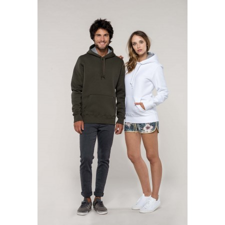 Kariban Sweat Shirt CAPUCHE LOURD, 360gr/m²