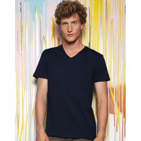 B&C T-Shirt BIO col V Inspire