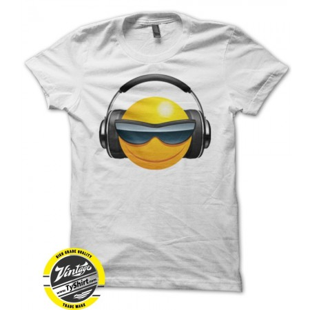 Tee shirt DJ Smiley humoristique