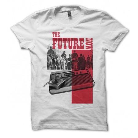 T-shirt The futur is Now, Vintage console Jeux Vidéo