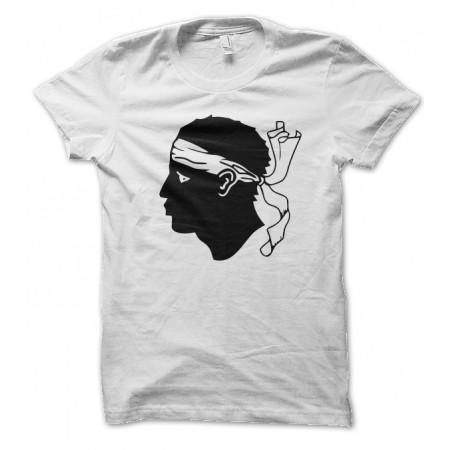 T-shirt Corsica, Tête de Maure Corse