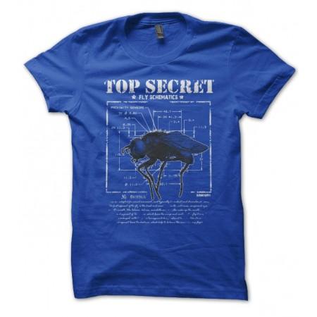 T-shirt Top Secret, Shéma secret du fonctionnement d'une mouche