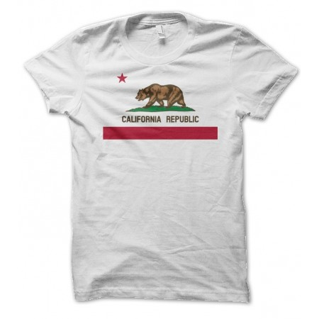 T-shirt California Republic