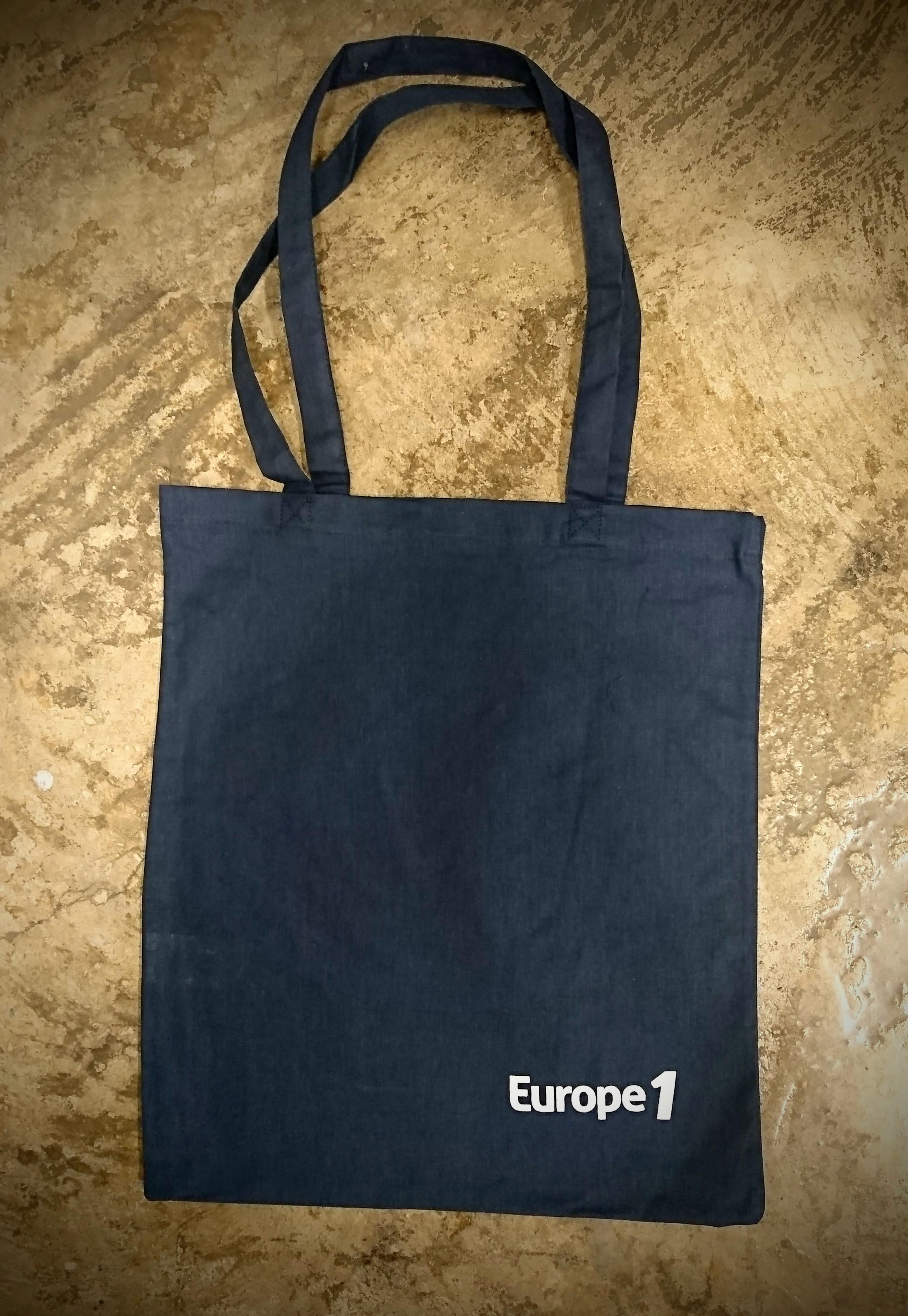 tote bag personnalisé europe 1 efficio serigraphie aloha