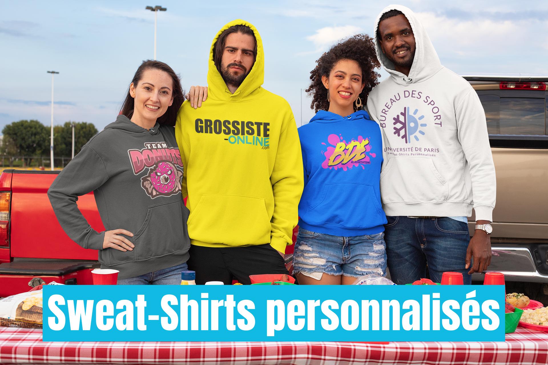 Sweat Shirt Personnalisés